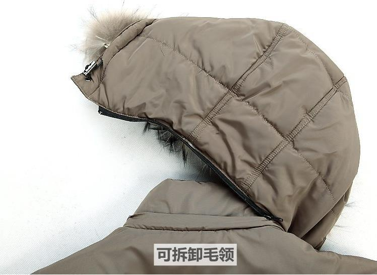 Free shipping 2015 fall and winter clothes men s down jacket middle aged men in the