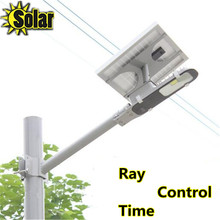 6W cob LED Street Light  + 12W Solar Power Panel with Ray