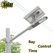 6W cob LED Street Light  + 12W Solar Power Panel with Ray
