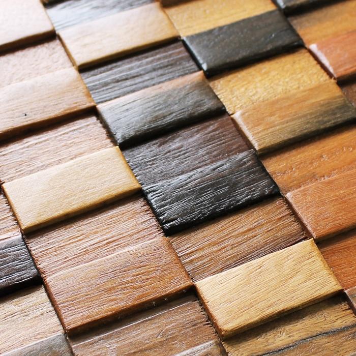 12x12 inch old ship wood kitchen backsplash, wood panel floor tiles, natural wood mosaic laminates wall decor fireplace mosaic(China (Mainland))