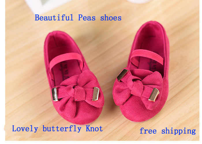 children Peas girl shoes  Breathable  fit cotton soft bottom rubber sole elastic band  cotton fabric all seasons yes