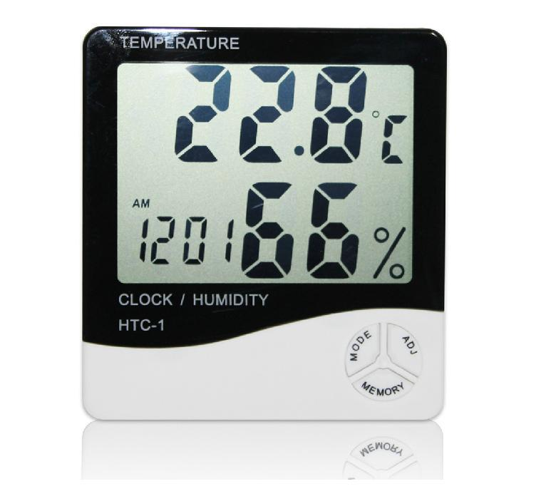 Digital Temperature Hygrometer Thermometer for Bath Kitchen Living Room #1035(China (Mainland))