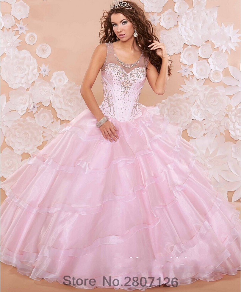 Light Pink Ball Dresses Promotion-Shop for Promotional Light Pink ...