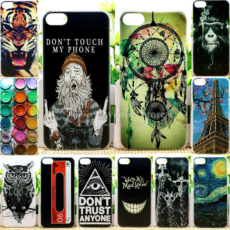 New Arrival Perfect Design Colored Paiting Back Cover Case For Apple iPod Touch 6 Phone Cases(China (Mainland))