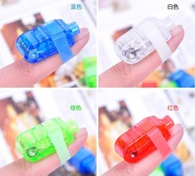 4 Color Free Choice Opp Pack Party Toy Laser Finger Without Projection/Street Dancers Party Laser Cheaper Price If Buy More(China (Mainland))