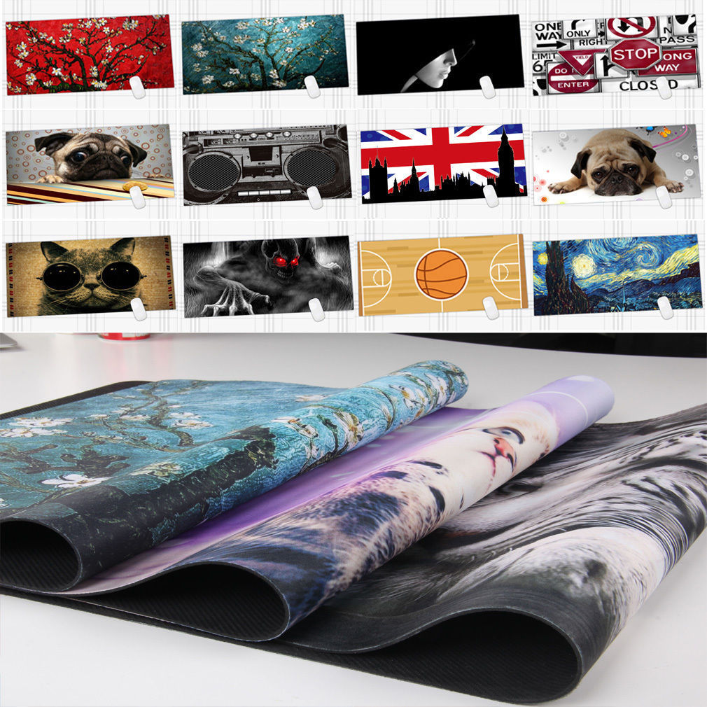 890x400mm Custom Design Extended Gaming Wide Large Rubber Mouse Pad Big Size Desk Mat Keyboard Pad Anti-skid(China (Mainland))