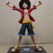 Japaness Anime Cosplay One Piece Monkey Luffy Action Figures Model Collection 15cm Two Years Later Kids(China (Mainland))