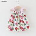 Baby Girls Dress 2017 Brand Summer Style Bow Infant Dresses For Girls Vintage Toddler Girl Clothing