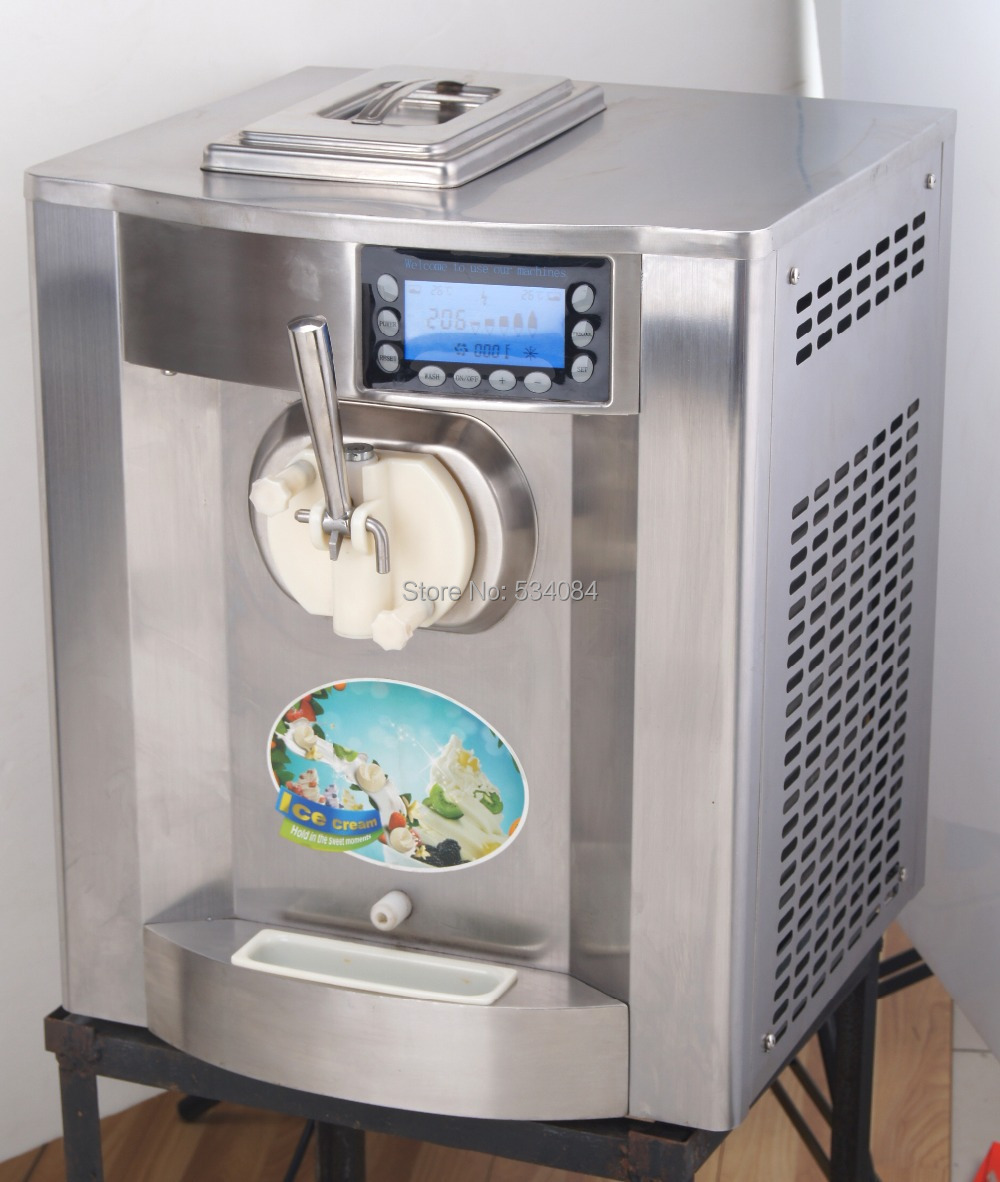 Countertop Electric Ice Cream Maker : Smallest-Mini-Countertop-Ice-Cream-Freezer-Automatic-Control-Easily-to ...