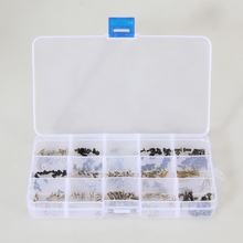 New Arrival 300pcs/Set Assorted Laptop Screws with Box for IBM HP TOSHIBA Sony Dell Samung Free Shipping(China (Mainland))
