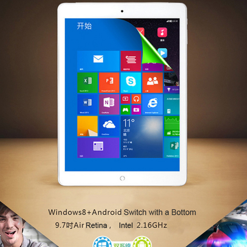 ONDA V919 2GB 32GB Windows 8 1 Android 4 4 3G Phone Call for Intel Z3736F