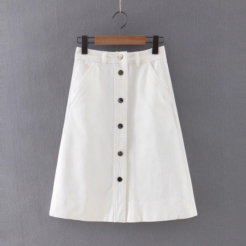 Online Get Cheap White Denim Jean Skirt -Aliexpress.com | Alibaba ...