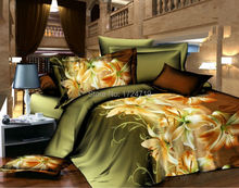 tiger leopard 3d bedding set, HD bed linen, bedding set, family set. The household, quilt cover, bed sheets pillowcases fashion(China (Mainland))