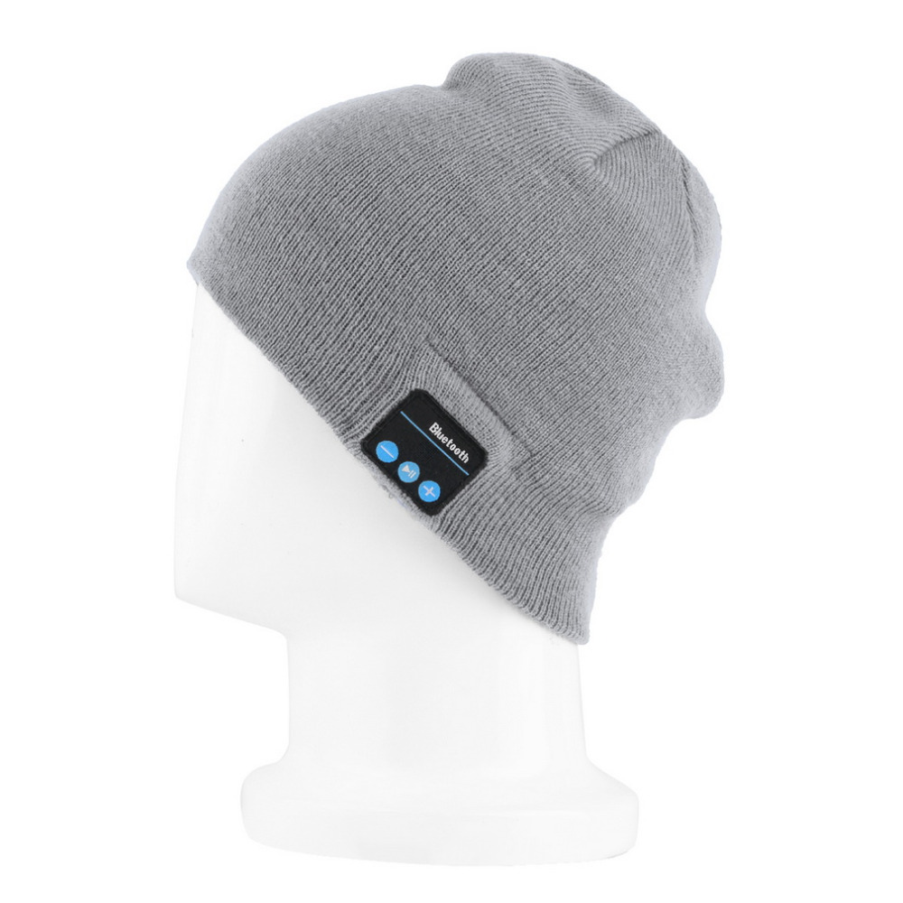 Cool Soft Beanie Warm Bluetooth Music Hat Cap with Stereo Headphone Headset Speaker Wireless Mic Hands-free for Men Women GiftОдежда и ак�е��уары<br><br><br>Aliexpress