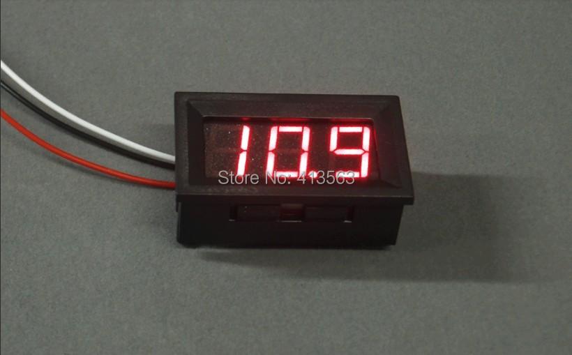 Гаджет  2014 New High quality Red LED Ampere Panel Voltage Meter Mini Digital Voltmeter DC 0V To 100V TK1214  #0001 None Инструменты