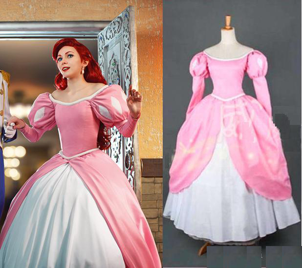 Online Get Cheap Pink Ariel Dress Costume -Aliexpress.com ...