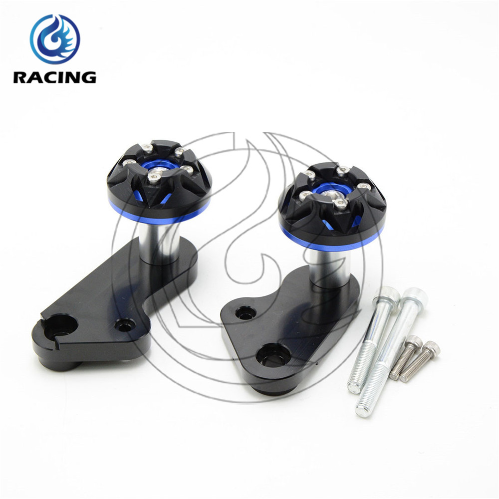 NEW BRAND Frame Sliders Aluminum motorcycle frame sliders crash falling protection For YAMAHA YZFR1 2009
