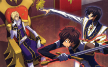 Free shipping CODE GEASS ZERO LELOUCH Japan Anime Poster printed silk wall decoration 12×18 24x36in(1450066677116)