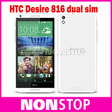 Original HTC Desire 816 816W dual SIM Quad Core 1.5 GB RAM 8G ROM 13MP Camera Mobile Phone(China (Mainland))