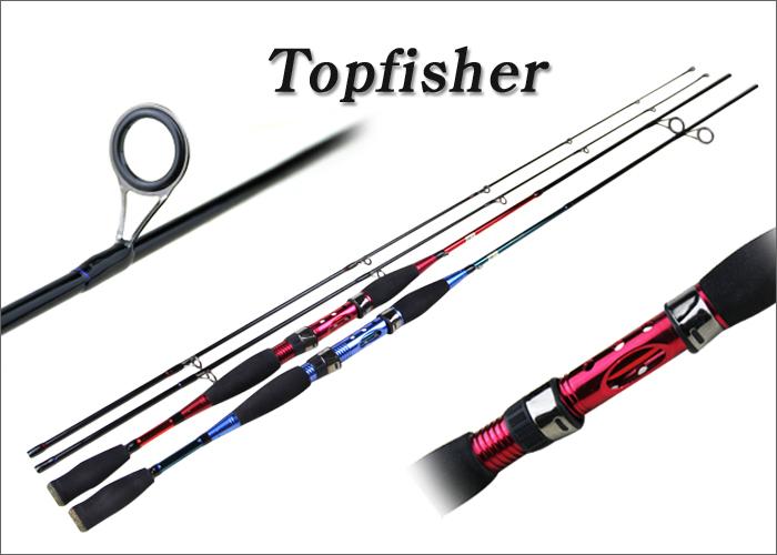 Buy topfisher spinning fishing rod 7 for Blue fishing rod