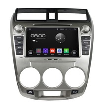 HD1024*600 Quad Core 1.6G 16GB Android 5.1.1 Car DVD Player Radio GPS Navi Stereo for Honda CITY 1.5L 2008 2009 2010 2011 2012