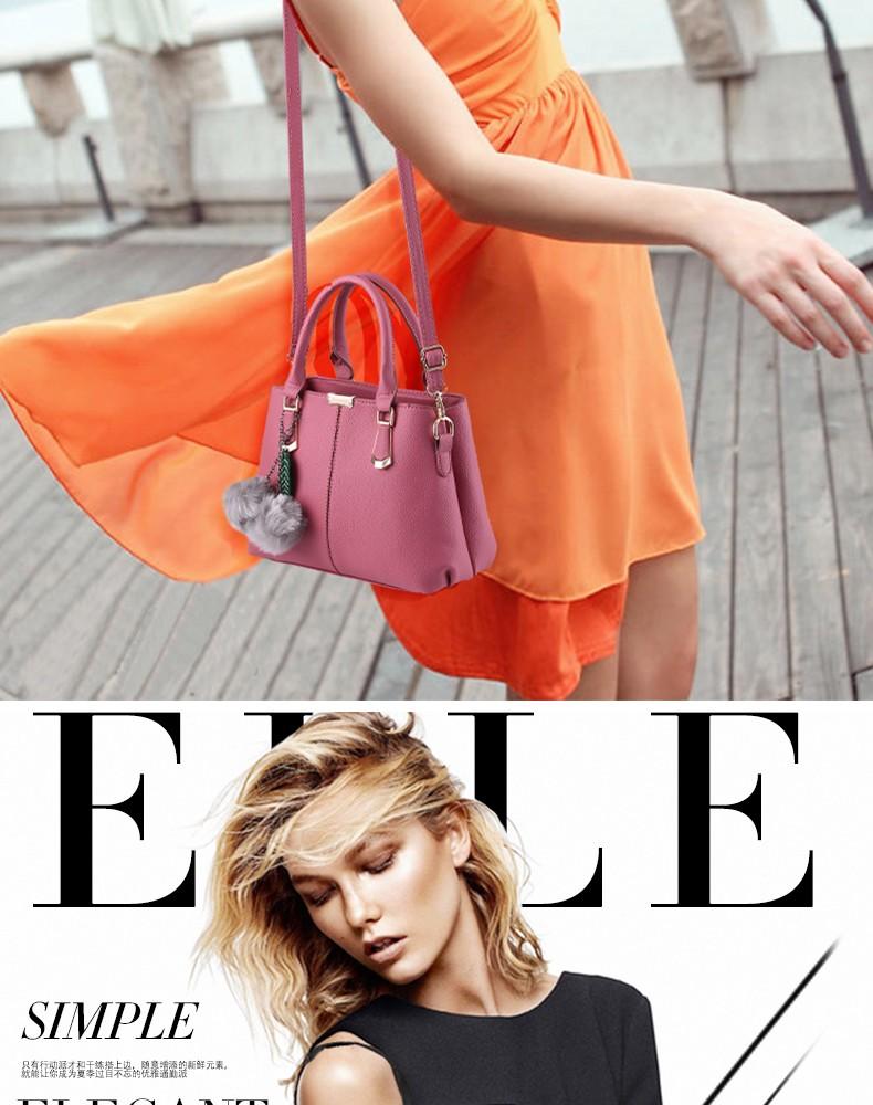 SNBS 100% Genuine leather Women handbags 2016 New  female bag sweet lady fashion handbag Messenger shoulder bag