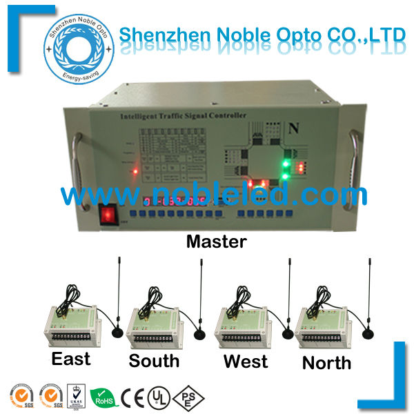 Roadway safety control used , 12VDC, Solar wireless traffic signal light controller , 20 channel(China (Mainland))