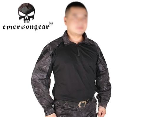 EMERSON G3 Combat Shirt Tactical Long Sleeve T-shirt Outdoor Sports Military Shirt Airsoft Tshirt Hunting Clothing Typhon