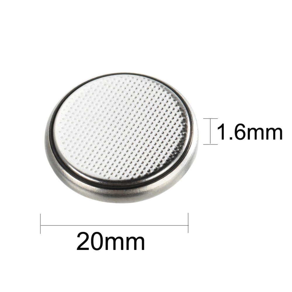 35Pcs in 7 cards 2016 CR2016 cr 2016 DL2016 3V 75mAh Lithium Button Coin Battery for