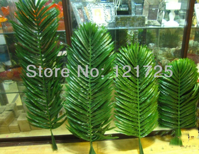 artificial coconut palm leaves,home decoration,artificial silk flower,artificial plants(China (Mainland))