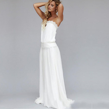 Buy 2017 Vintage 1920s Sexy Beach Wedding Dresses Strapless Backless Lace Ribbon empire Waist Bohemian Bridal Gowns Boho Hippie for $104.16 in AliExpress store