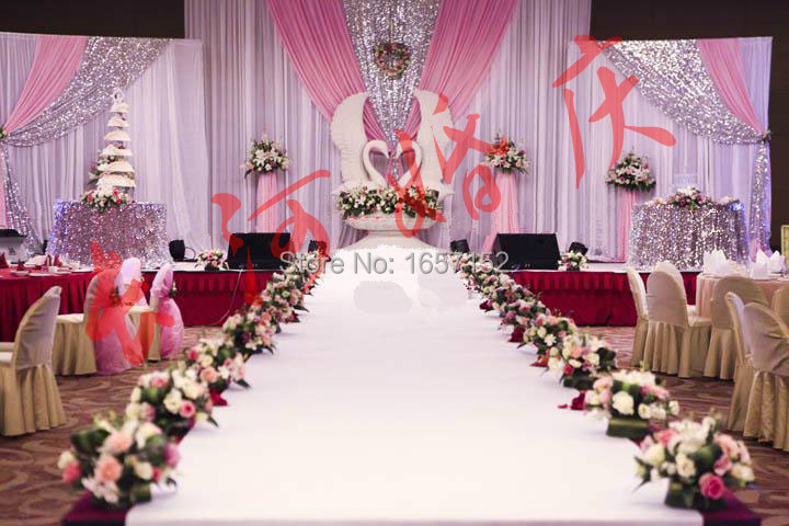 Buy wedding decoration sequins stage for Background decoration for wedding