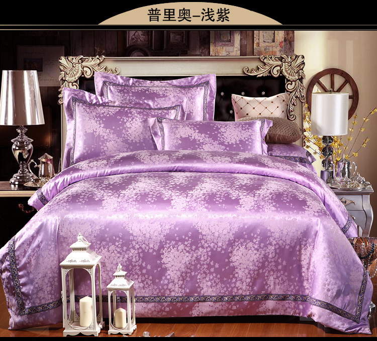 2015 New 4 Pcs Bedding Set Luxury European Bedroom Duvet