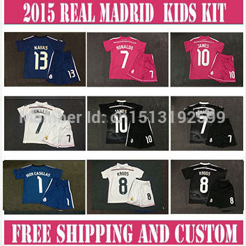 Good News! Ronaldo Real Madrid 2014 mundial de clubes de Champion league Jersey JAMES BALE citp 14/15 3rd Black Dragon Jersey(China (Mainland))
