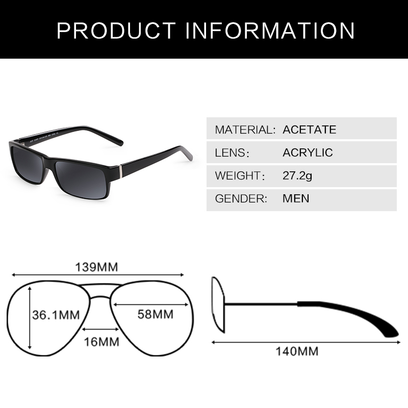 Cool Black Wayfarer sunglasses male acetate mens glasses brand designer eyewear 2015 outdoor points sun men