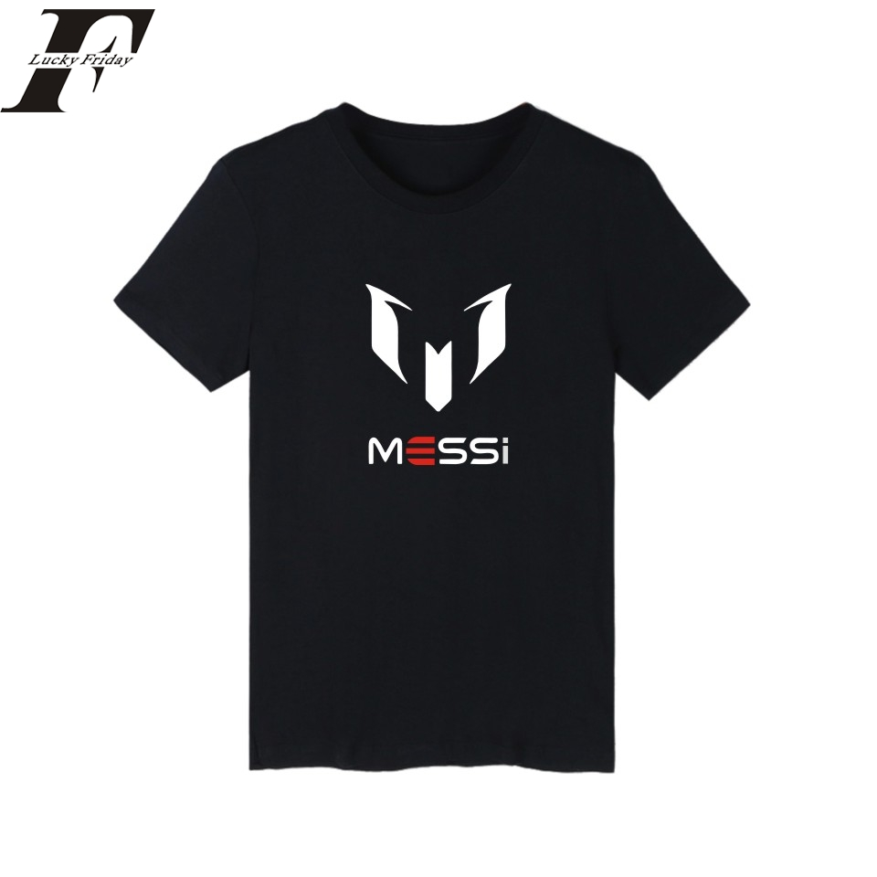 MESSI Free Shipping Barcelona's Lionel mark MESSI Barcelona cotton round collar leisure T-shirt men with short sleeves(China (Mainland))
