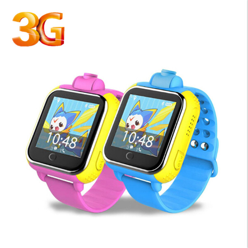 3G Smart watch GPS Tracker kids Smartwatch SIM SOS WIFI GSM Mobile Phone App For IOS & Android Camera Touch Screen Wristwatch(China (Mainland))