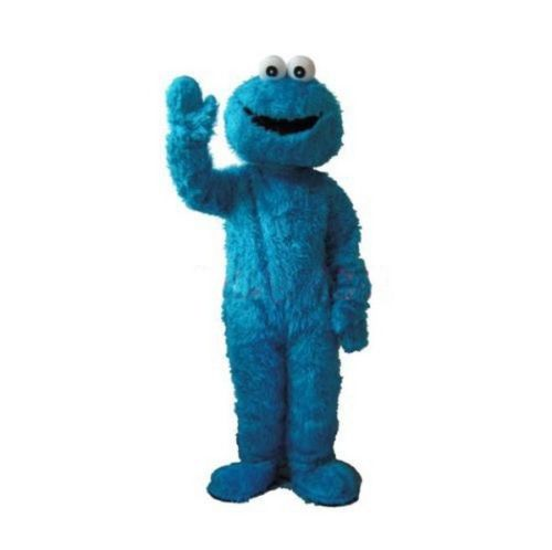 Blue COOKIE MONSTER mascot costumes for sale anime carnival costume Halloween Dress free shipping()