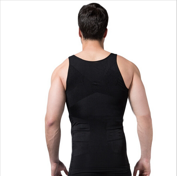 Hot Men Firm Tummy Belly Buster Vest Control Slimming Body ...