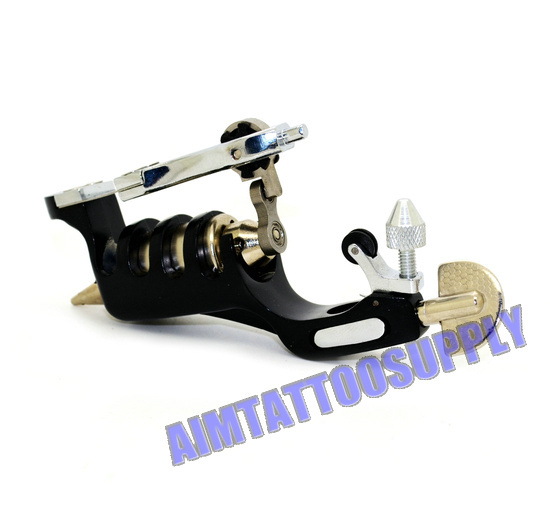 Professional rotary tattoo machine gun black machines low noise shader liner - SUE WANG Tattoo supplies store