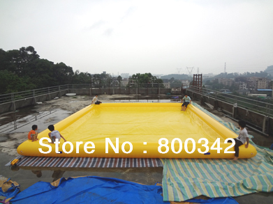inflatable pool manufacturer,9x9m  CE certification