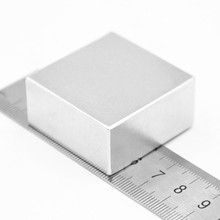1PCS block 40x40x20mm Super Powerful Strong Rare Earth Block NdFeB Magnet Neodymium N52 Magnets(China (Mainland))