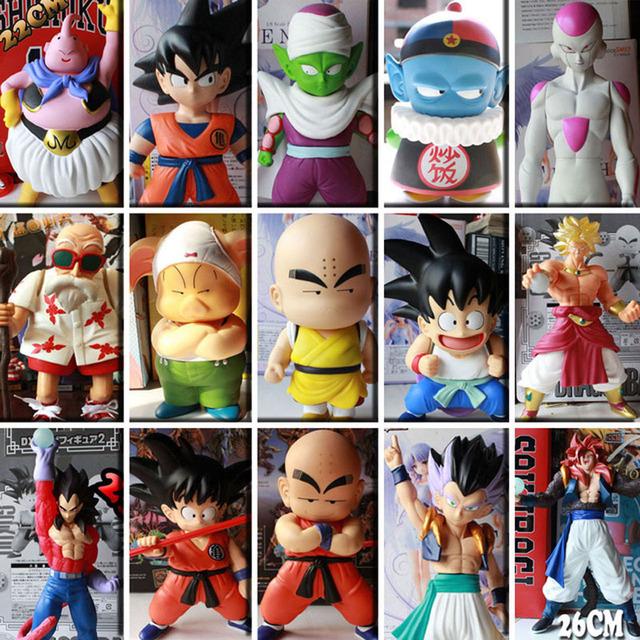 Dragon Ball Z ПВХ Фигурку Игрушки Аниме Dragon Ball Сон Гоку Серии Фигурки Модель Куклы 15 Стили Розничная