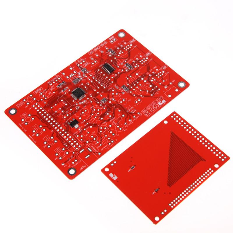 D1U New Color Screen DSO138 Digital Oscilloscope DIY Kit Circuit Operation Tool Free Shipping