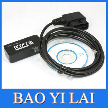 WIFI WLAN Wireless OBD2 OBD 2 OBDII OBD II Code Reader Scanner for iPhone Ipad Ipod Touch ELM327