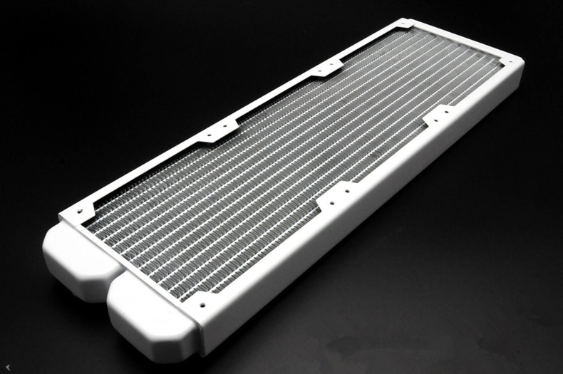 Cool-K FULL COPPER  Bright White 360 Computer Water Cooling Radiator 120mm x 395mm x 28mm<br><br>Aliexpress