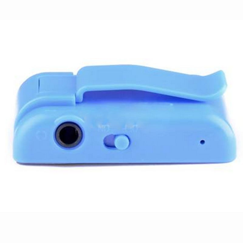 Mini Mirror Clip USB Digital Mp3 Music Player Support 8GB SD TF Card 6 Colors Can Choose