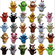 EMS DHL Wholesale 28PCS Cute Learning Plush Toy Children Kawaii Speaking Animal Puppet Kids Hand Puppet New Christmas Gifts J814(China (Mainland))