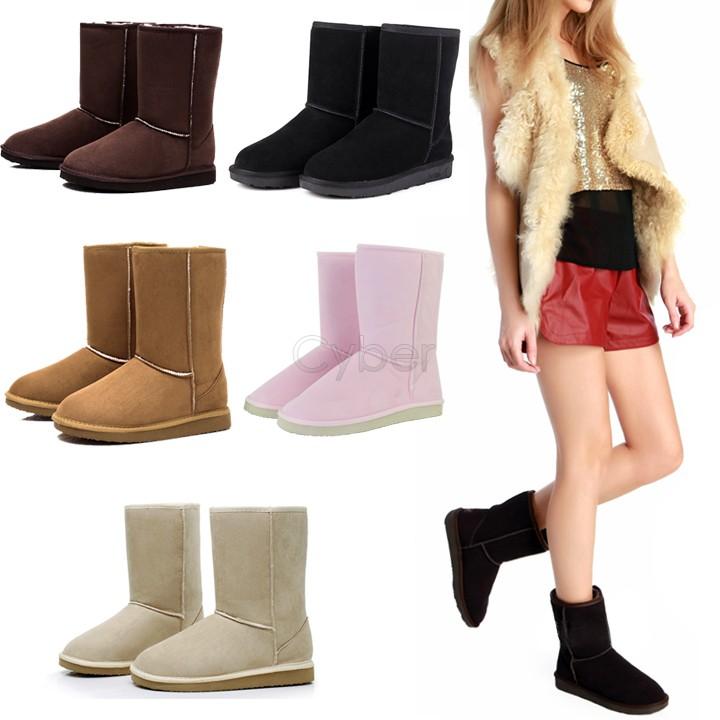 HOT ! Unisex Women Men Winter Snow Boots Fashion Half Warm Shoes 6Colors 50 - Shenzhen Cyber Technology Ltd. store