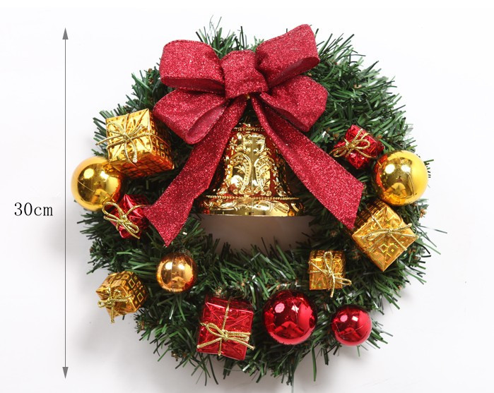 Christmas Decoration Christmas Garland Christmas ornaments layout window hotel market props Gifts Articles(China (Mainland))